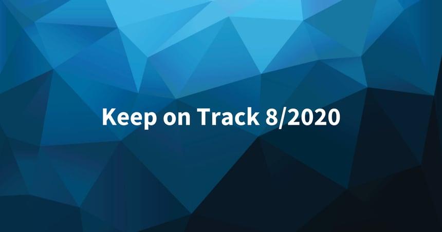 Keep on Track elokuu