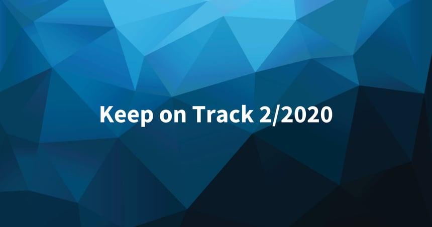 Keep on Track helmikuu