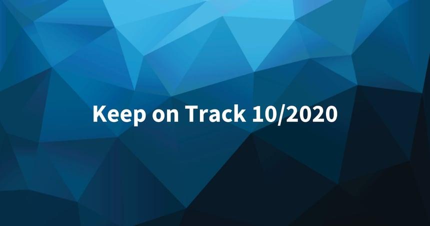 Keep on Track lokakuu