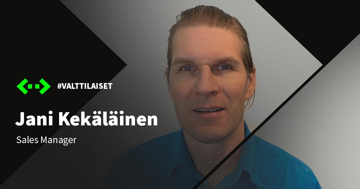 Valttilaiset: Jani Kekäläinen